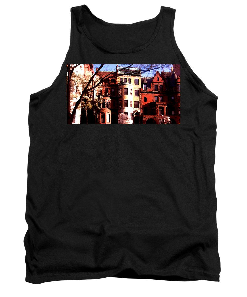 Boston Tank Top featuring the photograph Boston Colors Two by Marcello Cicchini
