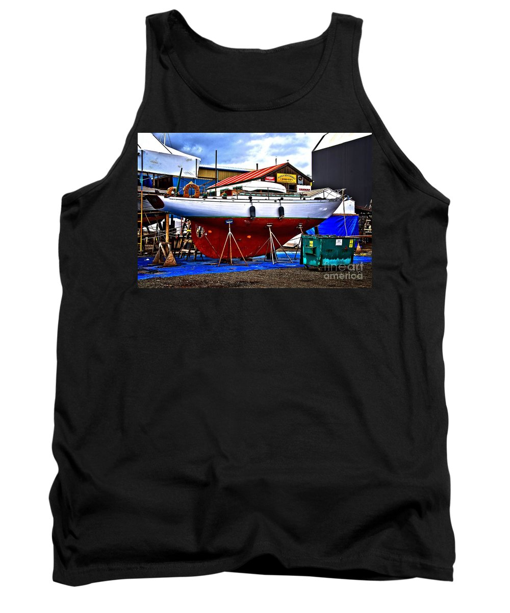 Abstract Tank Top featuring the photograph Bouyant Girl by Lauren Leigh Hunter Fine Art Photography