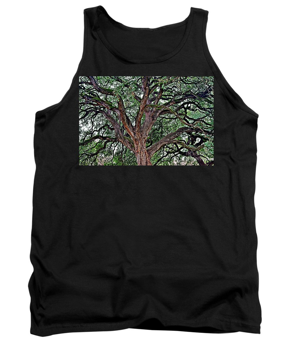 Branches Tank Top featuring the photograph Branches Of Brio by Gary Richards