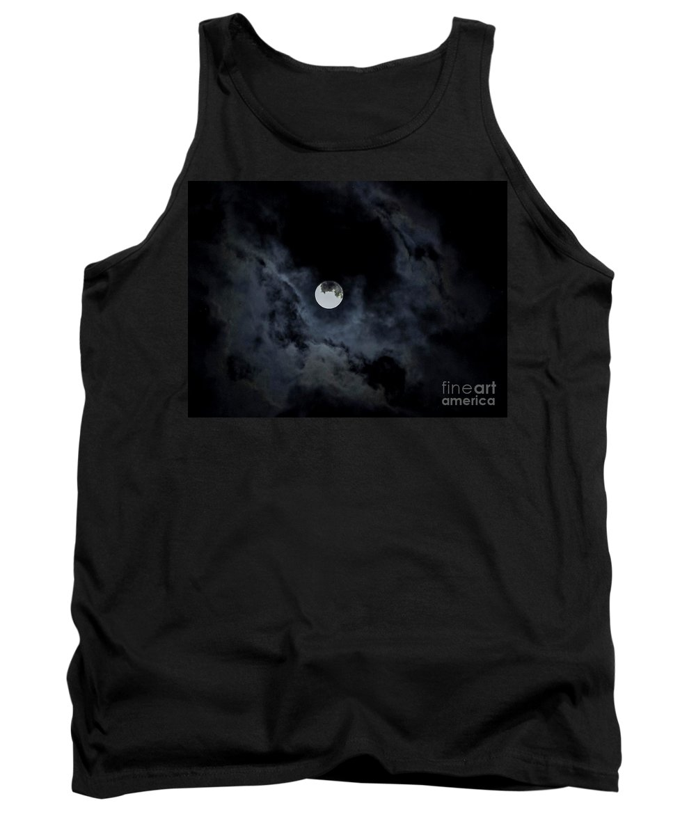 Supermoon Tank Top featuring the photograph Breaking Free by Angela J Wright