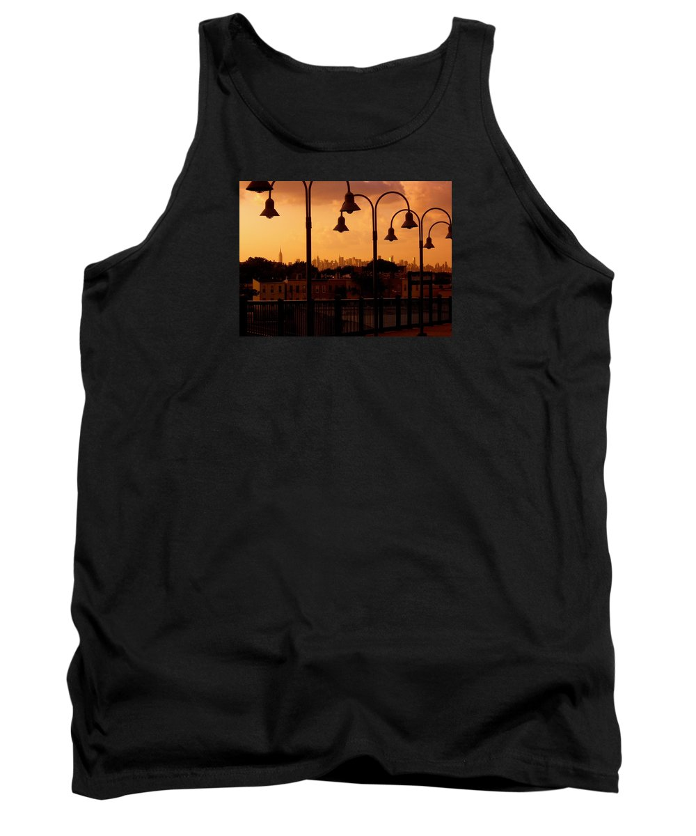 Iphone Cover Cases Tank Top featuring the photograph Broadway Junction In Brooklyn, New York by Monique's Fine Art