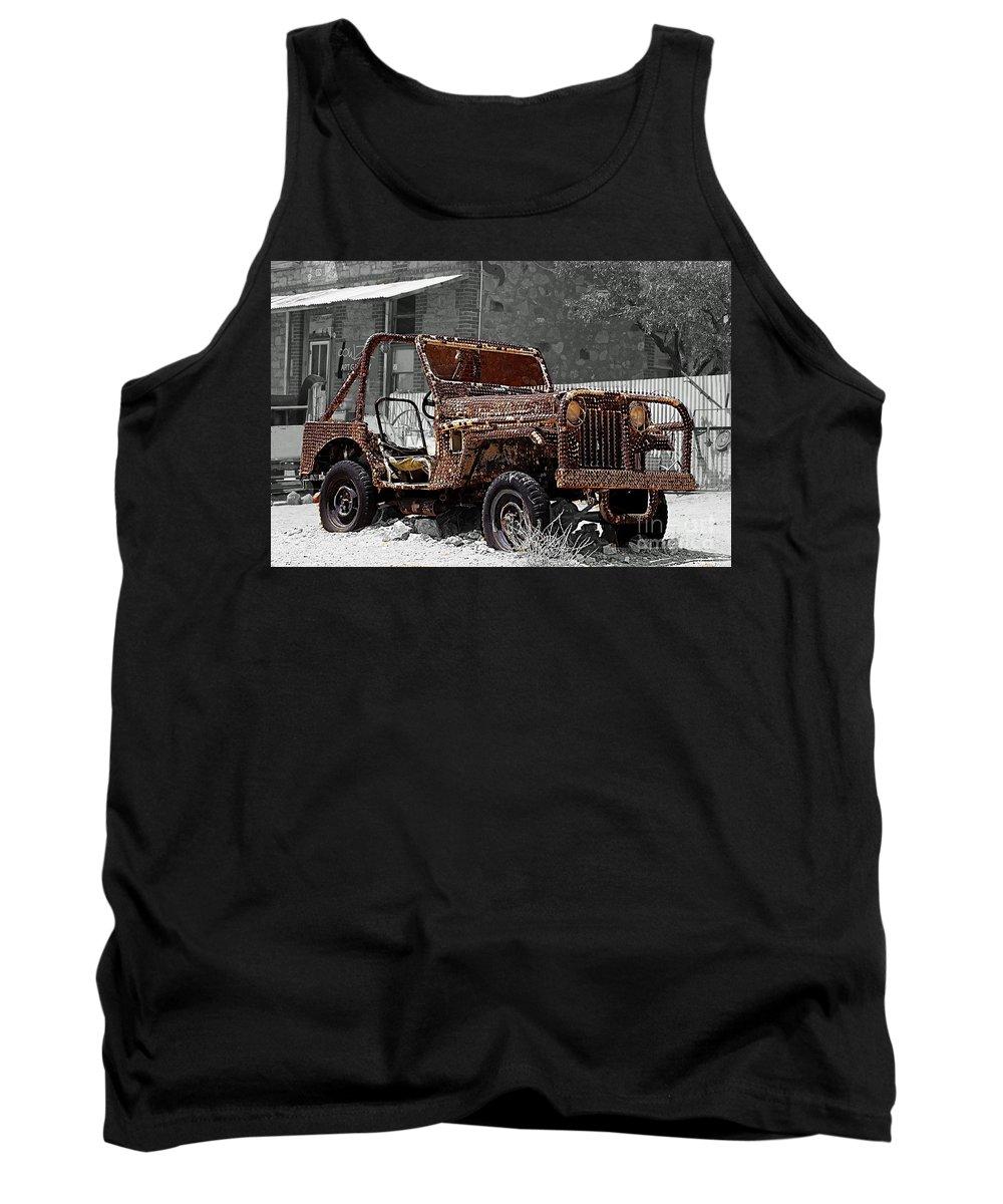 Australia Tank Top featuring the photograph Broken Hill 12 by Ben Yassa