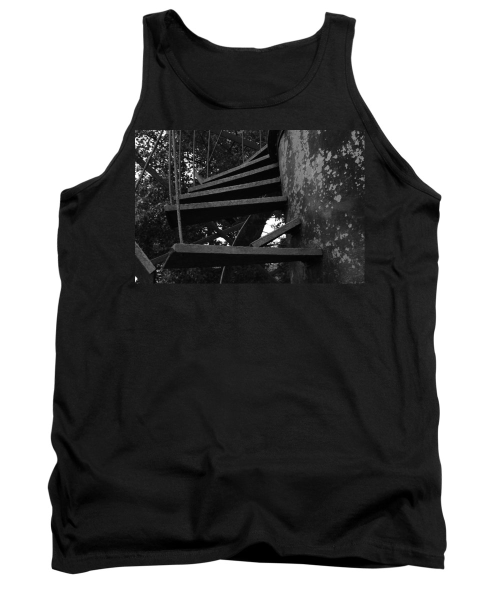 Stairs Tank Top featuring the photograph Broken Stairs by Jennifer Ancker