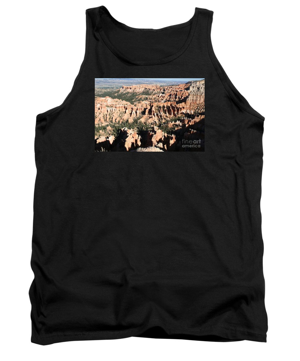 Canyon Tank Top featuring the photograph Bryce Canyon Hoodoos And Fins by Christiane Schulze Art And Photography