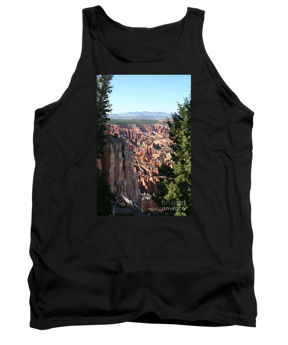 Canyon Tank Top featuring the photograph Bryce Canyon Overview by Christiane Schulze Art And Photography