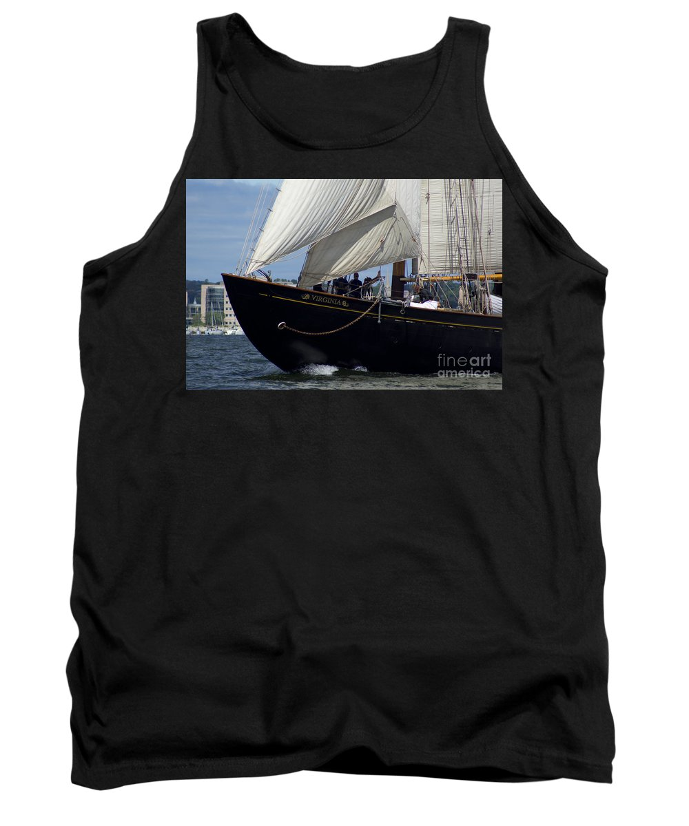 Virginia Tank Top featuring the photograph Building Speed by Joe Geraci