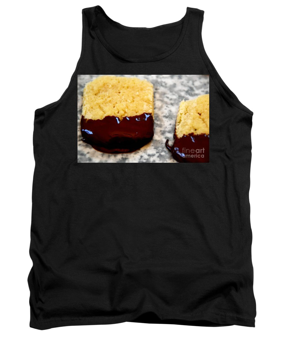 Tank Top featuring the photograph Butter Cookies by Bonnie Myszka