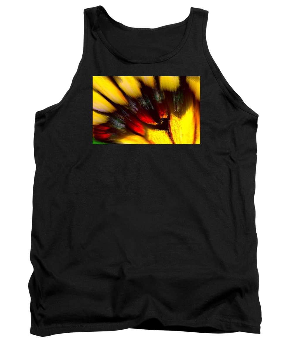 Butterfly Tank Top featuring the digital art Butterfly Wing Pastel by Antonia Citrino