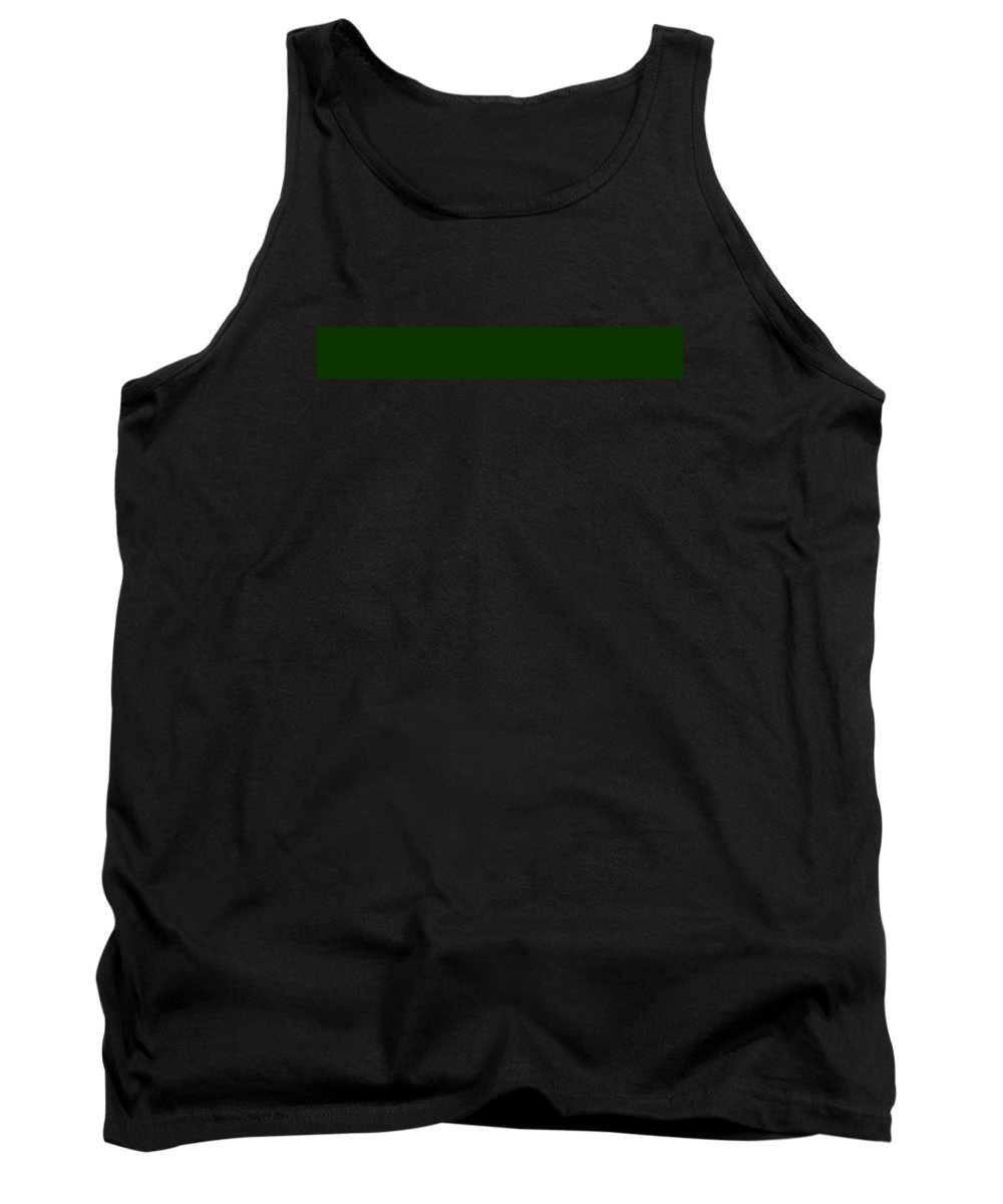 Abstract Tank Top featuring the digital art C.1.11-51-0.7x1 by Gareth Lewis
