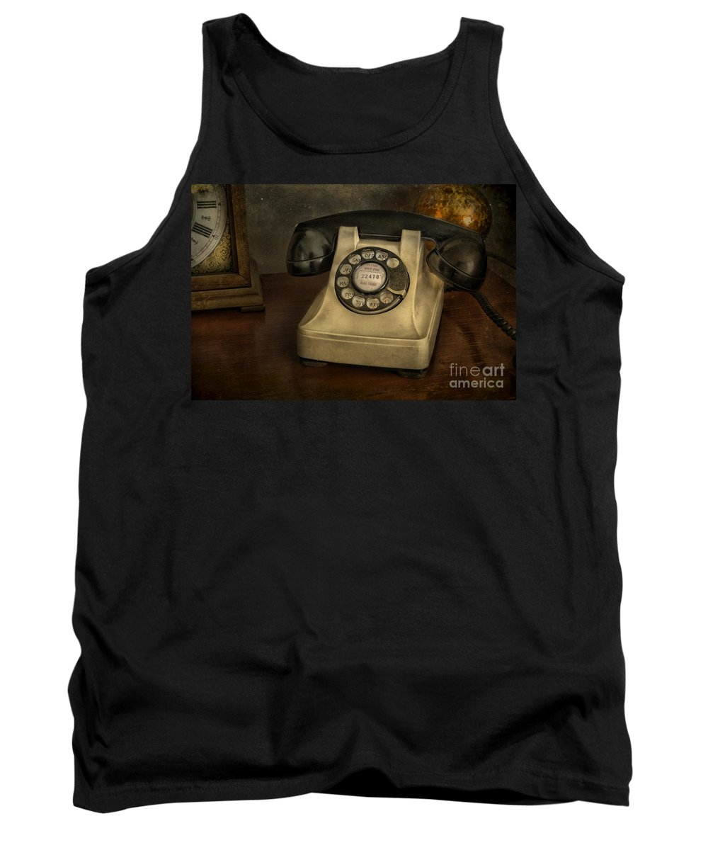 Telephone Tank Top featuring the photograph Call Me And Whisper by Sari Sauls