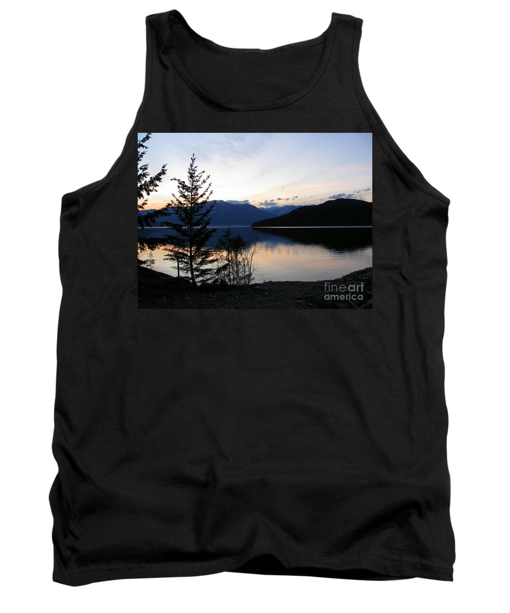 Kootenay Tank Top featuring the photograph Calm Evening by Leone Lund