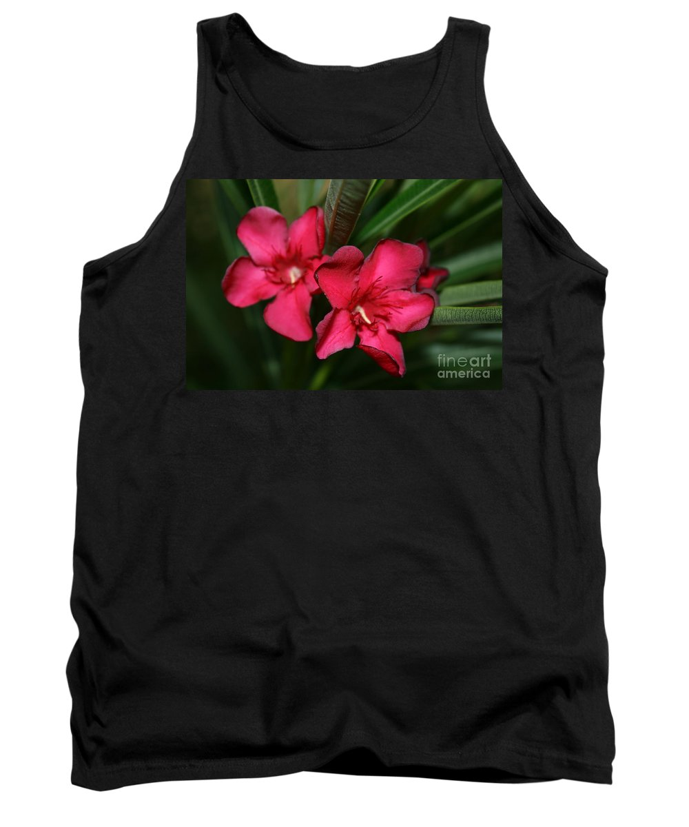 California Flowers Tank Top featuring the photograph Calpoly Flowers By Diana Sainz by Diana Raquel Sainz