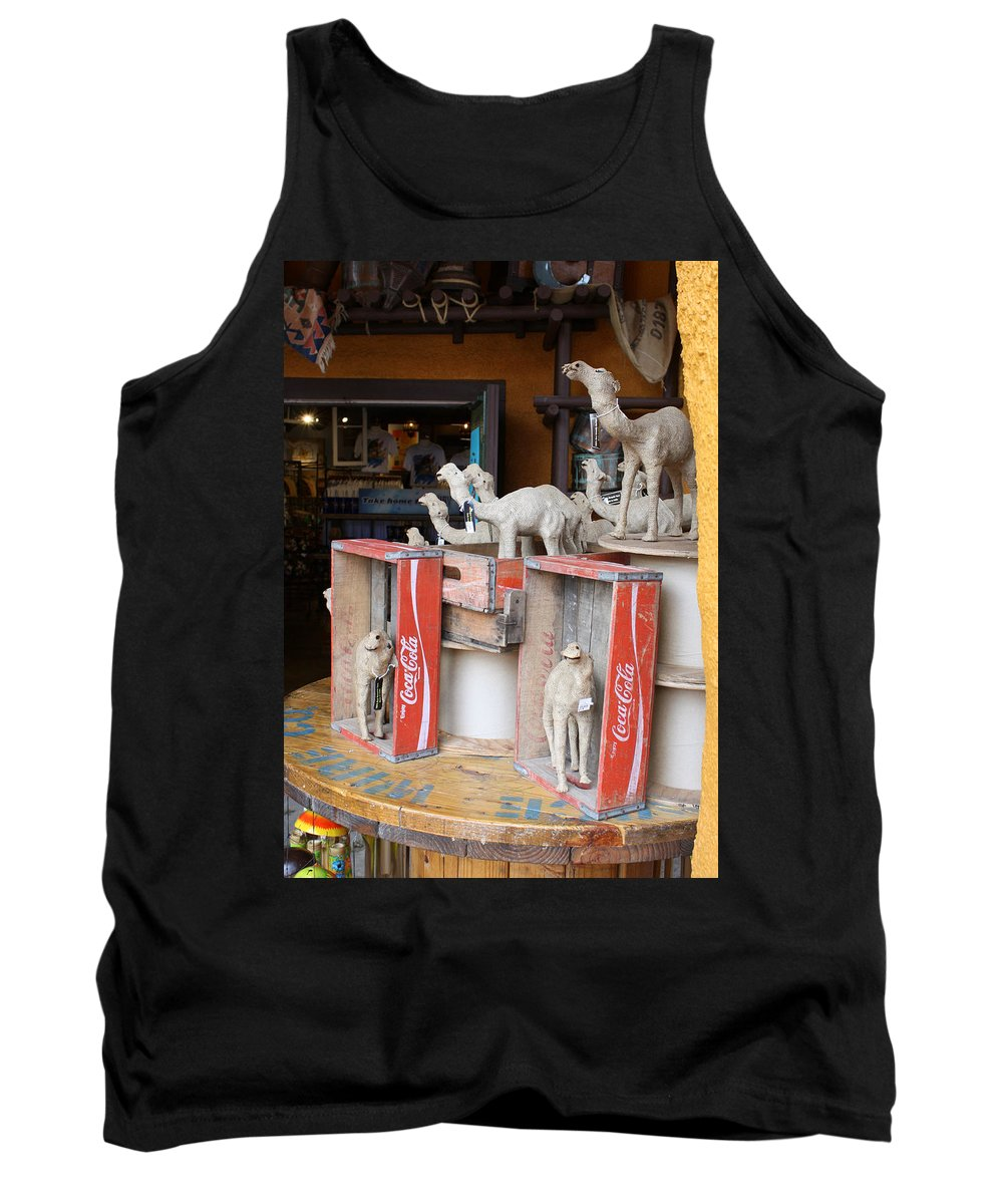 Tampa Bay Tank Top featuring the photograph Camel Cola by David Nicholls