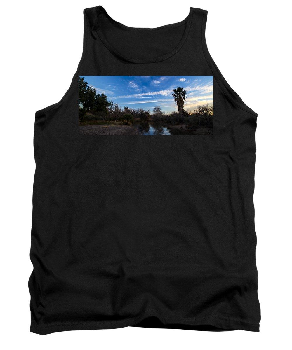 Camp Davis Tank Top featuring the photograph Camp Davis River by Angus Hooper Iii