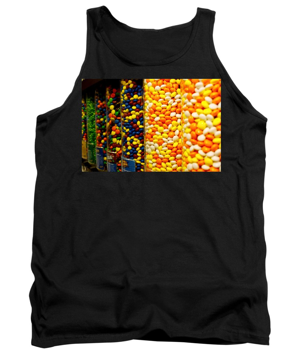 Times Tank Top featuring the photograph Candy II by Pablo Rosales