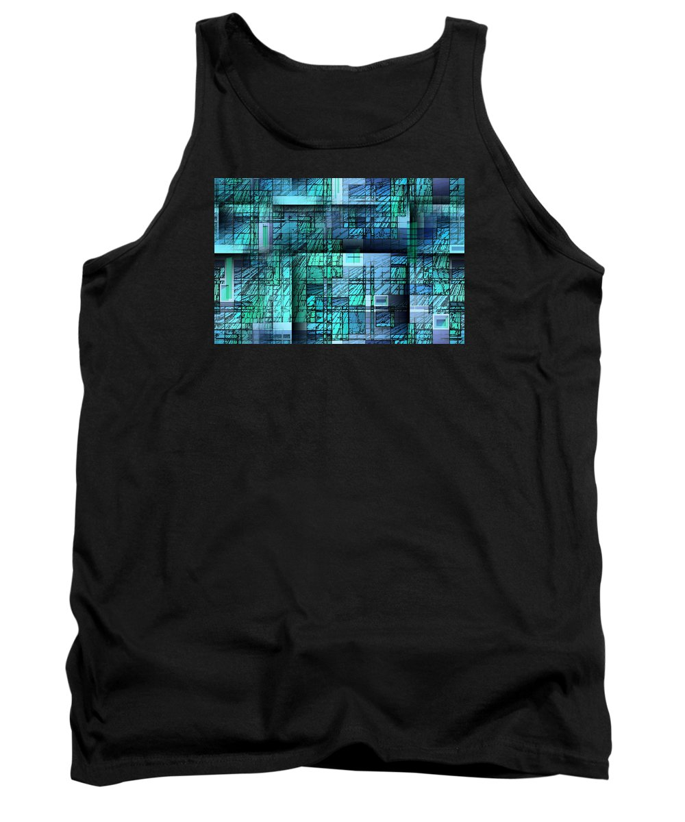 Graphic Art Tank Top featuring the digital art Candy by Raul Ugarte