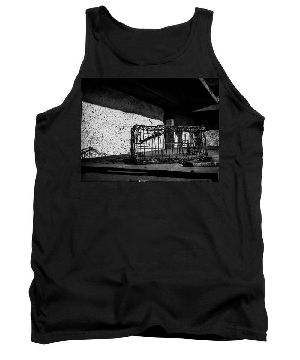 Freedom Tank Top featuring the photograph Captivity Defied Liberty Attained by Kaleidoscopik Photography
