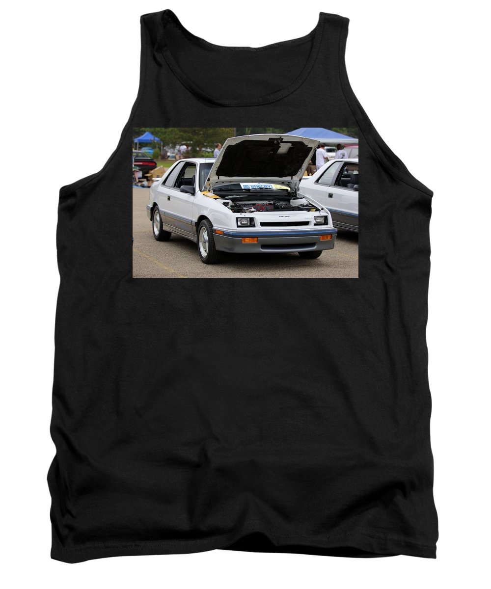 Dodge Shelby Csx-t Tank Top featuring the photograph Car Show 044 by Josh Bryant