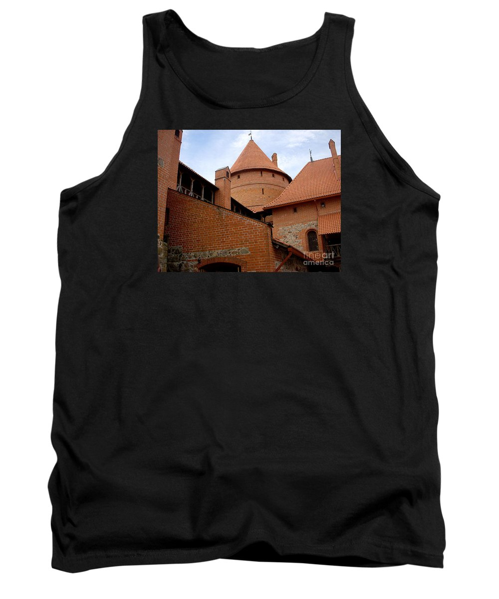 Castle Tank Top featuring the photograph Castle by Arturas Slapsys