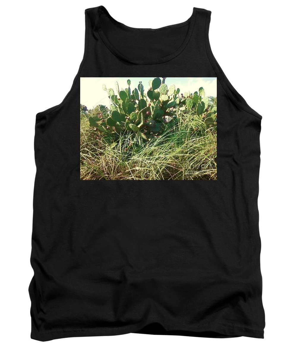 Catus Tank Top featuring the photograph Catus 1 by Michelle Powell