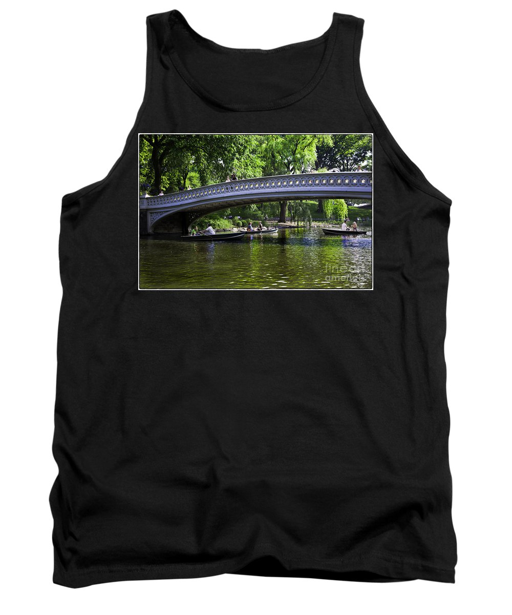 Central Park Tank Top featuring the photograph Central Park Day 2 by Madeline Ellis