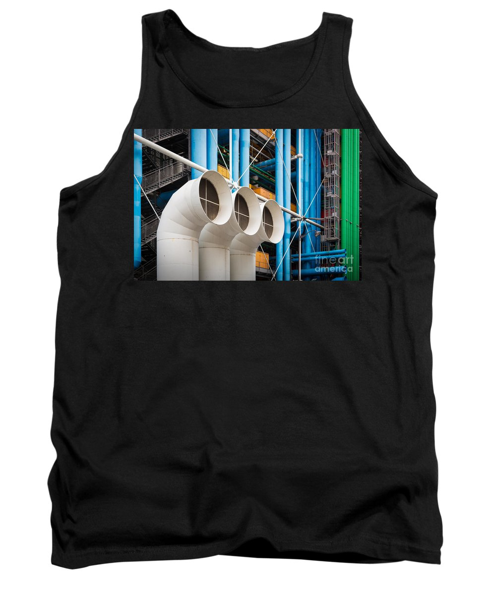 Europa Tank Top featuring the photograph Centre Pompidou by Inge Johnsson