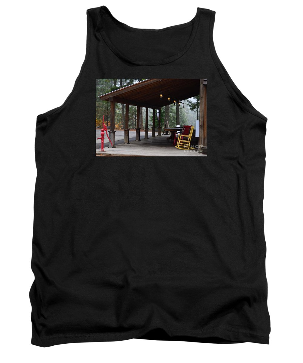 Art For The Wall...patzer Photography Tank Top featuring the photograph Change Of Seasons by Greg Patzer