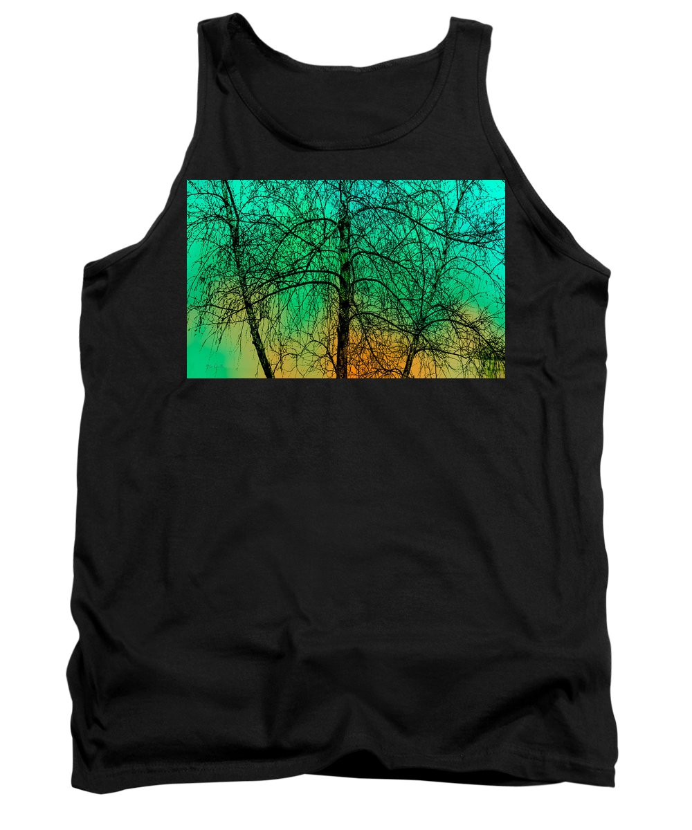 Tree Tank Top featuring the photograph Change Of Seasons Number Tw0 by Bob Orsillo