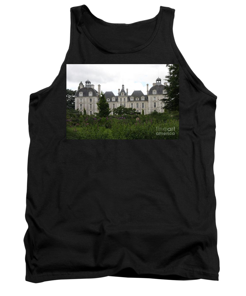 Palace Tank Top featuring the photograph Chateau Cheverney by Christiane Schulze Art And Photography