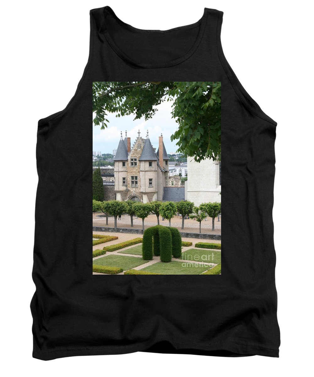 Castle Tank Top featuring the photograph Chateau D'angers - Chatelet View by Christiane Schulze Art And Photography