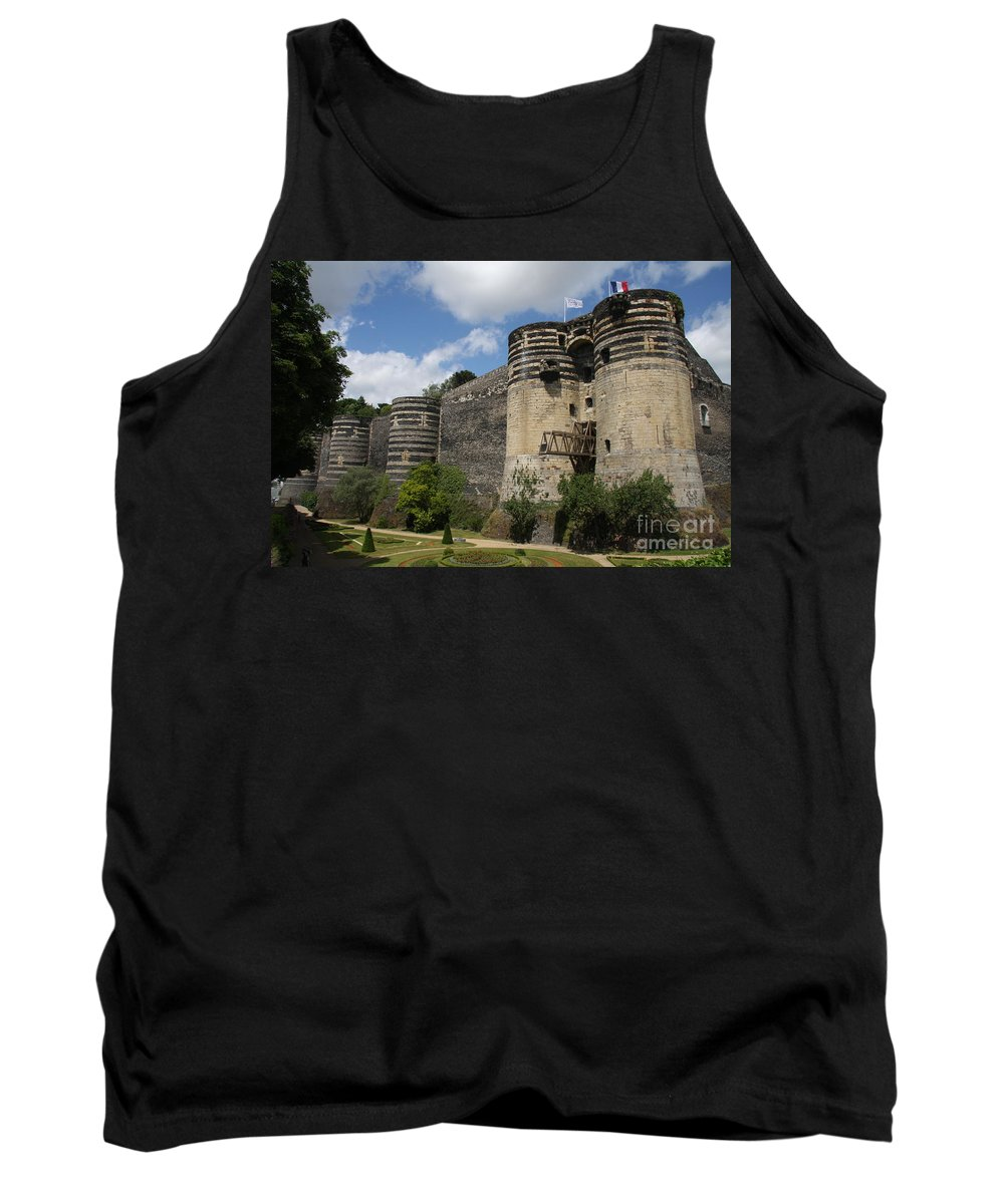 Castle Tank Top featuring the photograph Chateau D'angers - The Keep by Christiane Schulze Art And Photography
