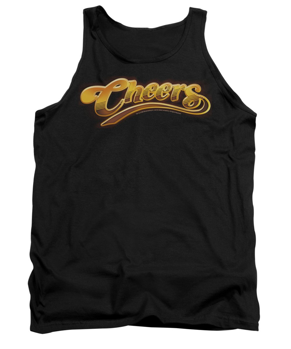 Cheers Tank Top featuring the digital art Cheers - Cheers Logo by Brand A
