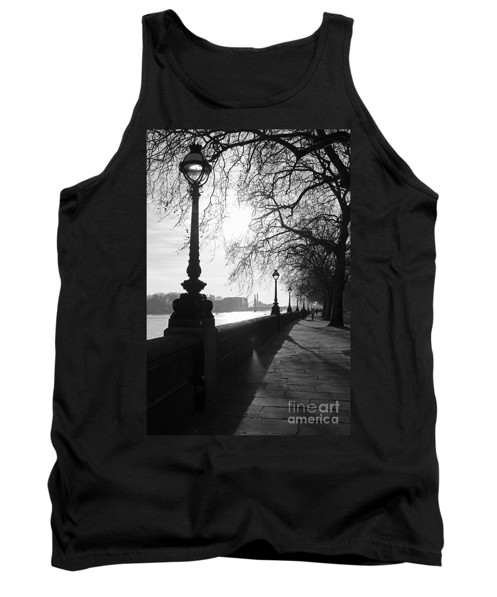 Chelsea Tank Top featuring the photograph Chelsea Embankment London Uk 5 by Julia Gavin