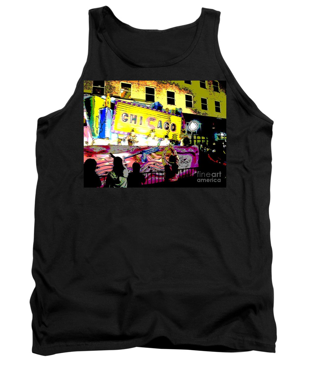 Chicago Tank Top featuring the photograph Chicago by Marian Bell