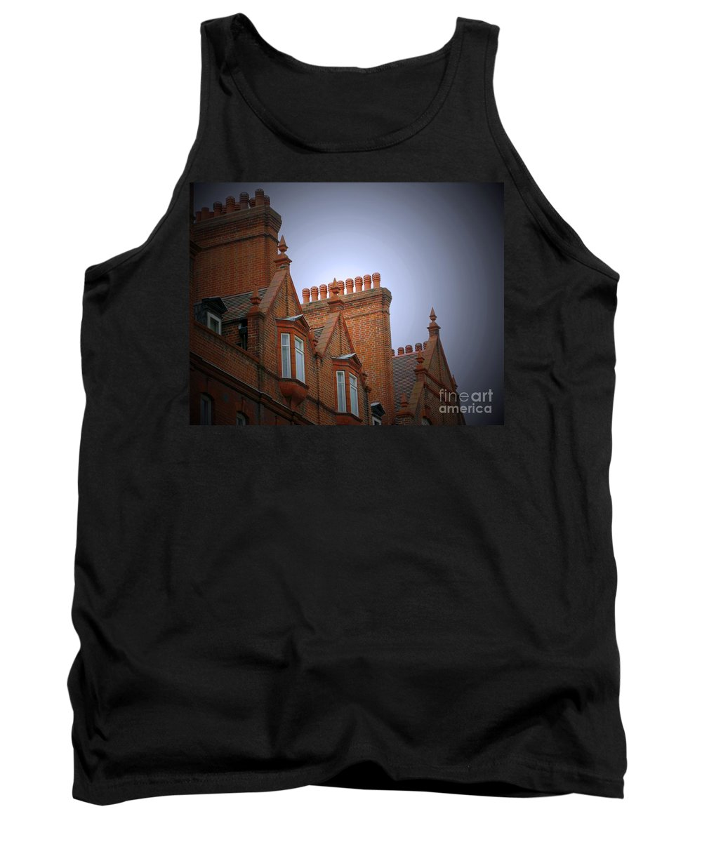 London Tank Top featuring the photograph Chimney Pots by Ann Horn