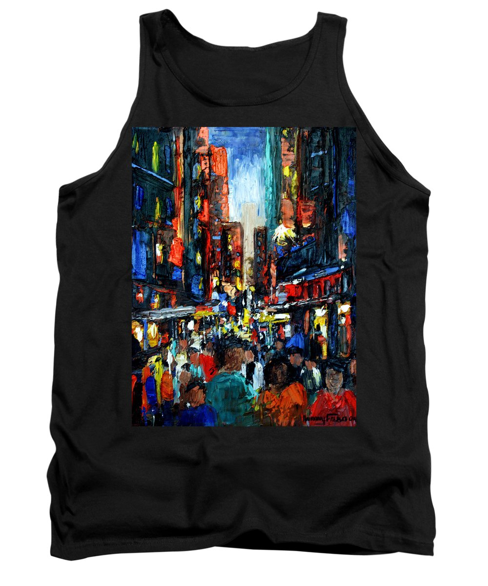 China Town Paintings Tank Tops