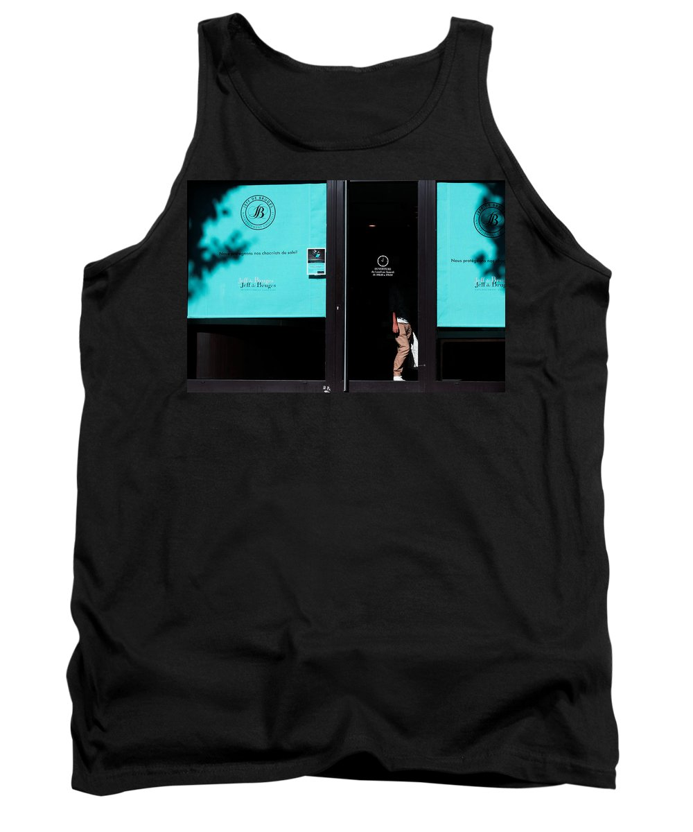 Photography Tank Top featuring the photograph Chocolate Time by Jean-Philippe Jouve