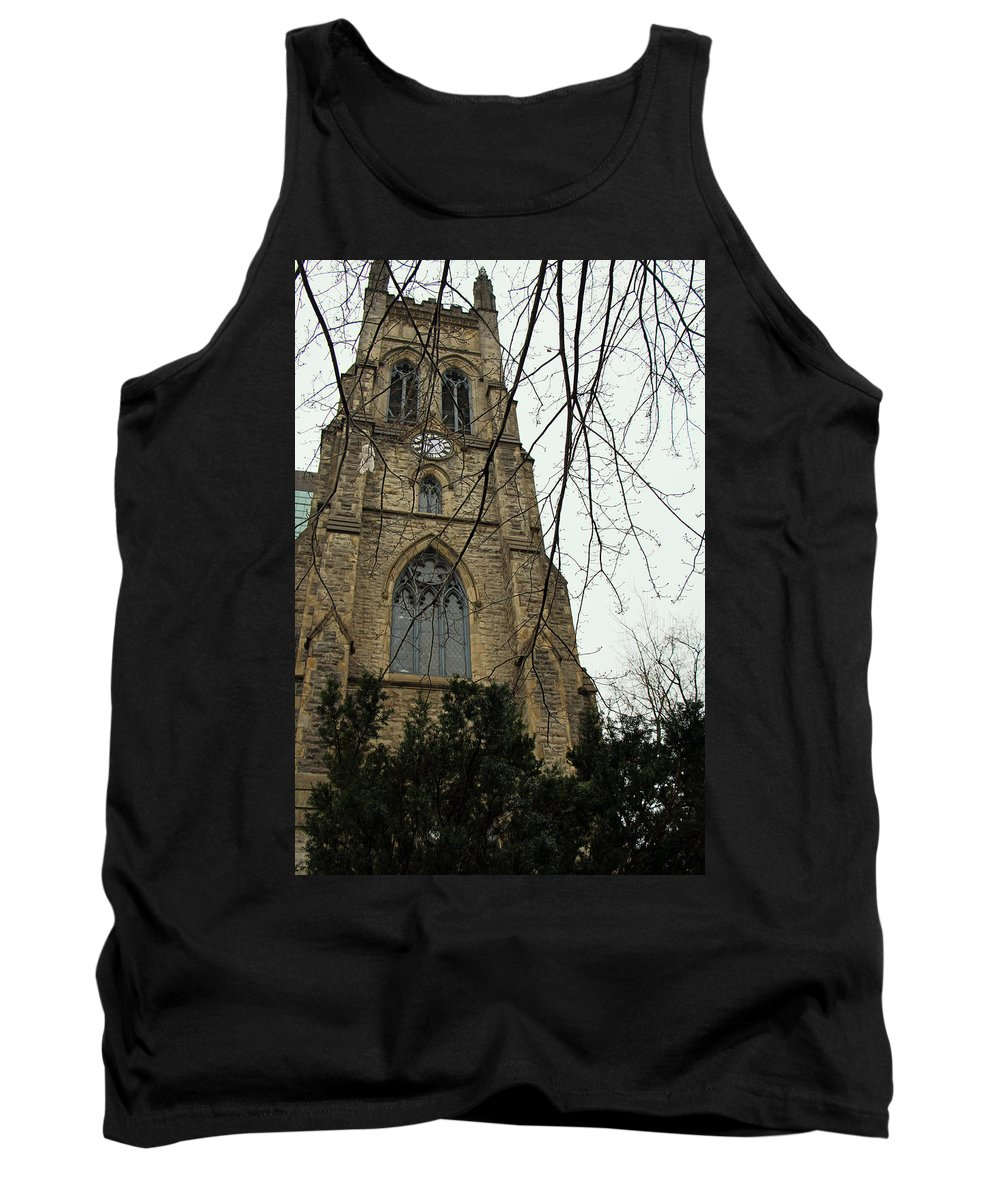 Christ Church Cathedral Tank Top featuring the photograph Christ Church Cathedral by Munir Alawi