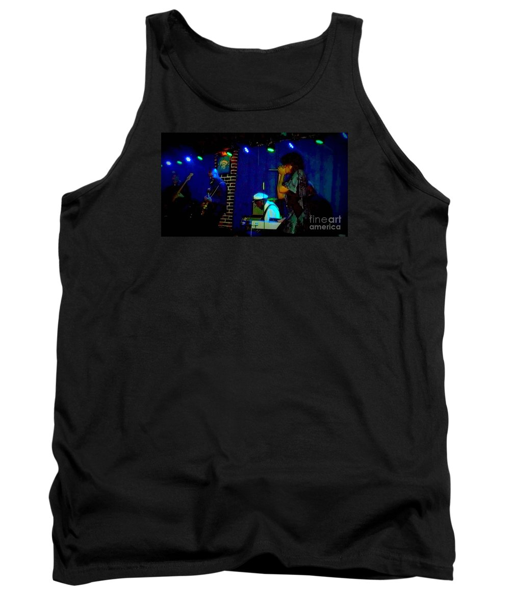 Tank Top featuring the photograph Chuck Berry Fam Jam by Kelly Awad