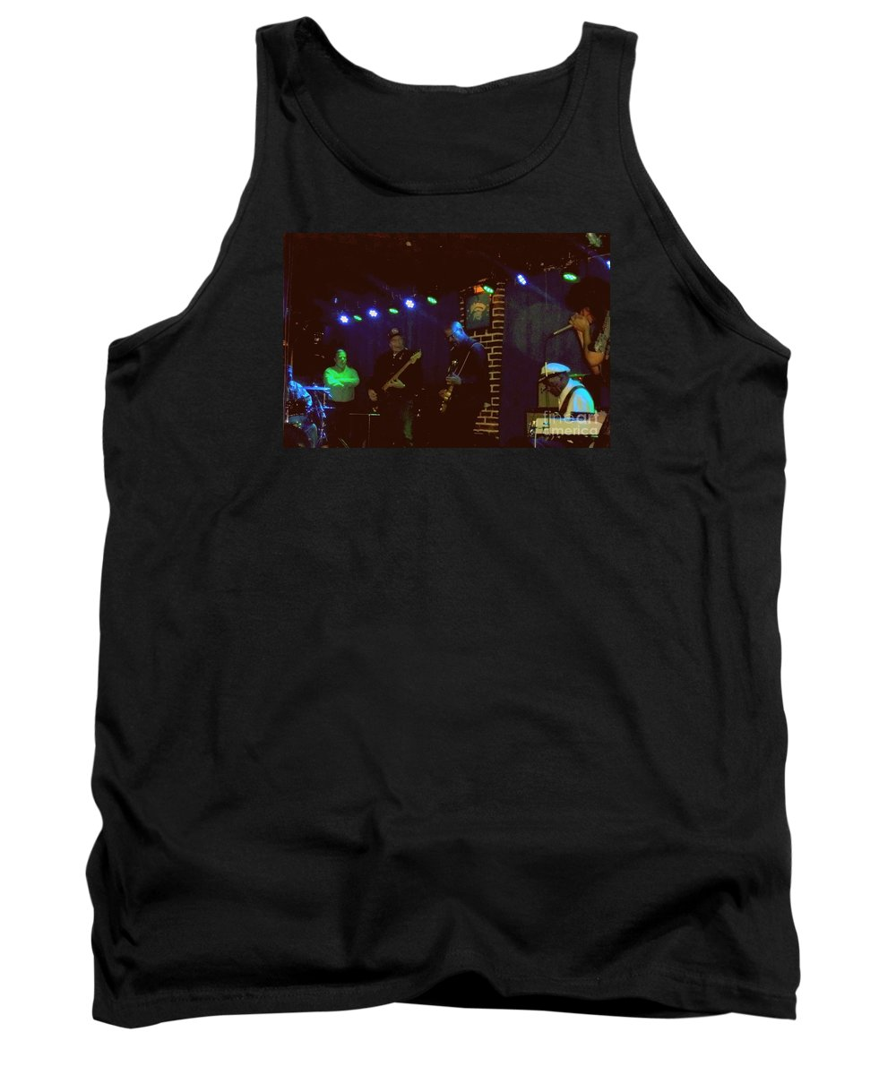 Tank Top featuring the photograph Chuck Berry's 199th Show by Kelly Awad