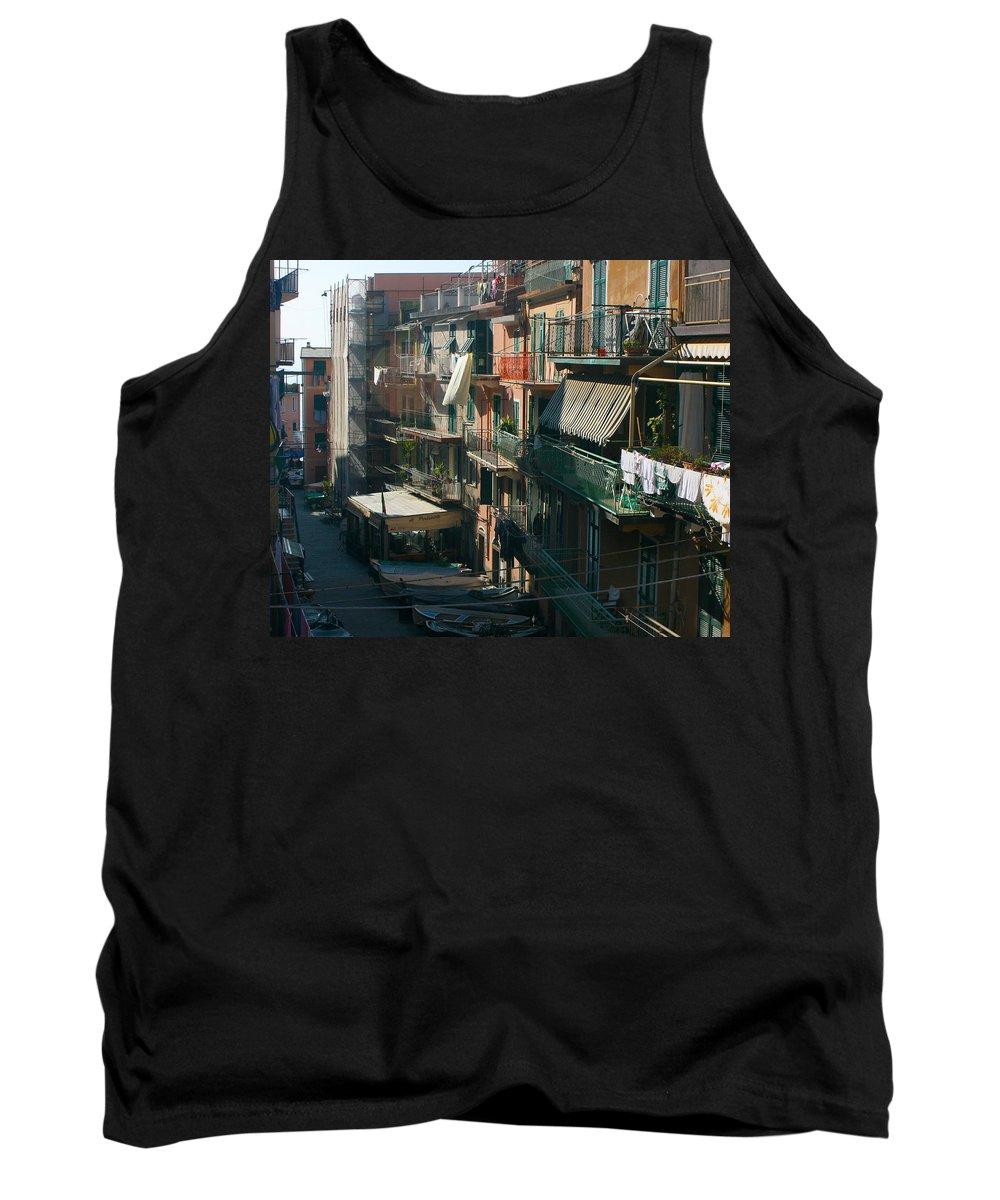 Karen Zuk Rosenblatt Tank Top featuring the photograph Cinque Terre 6 by Karen Zuk Rosenblatt