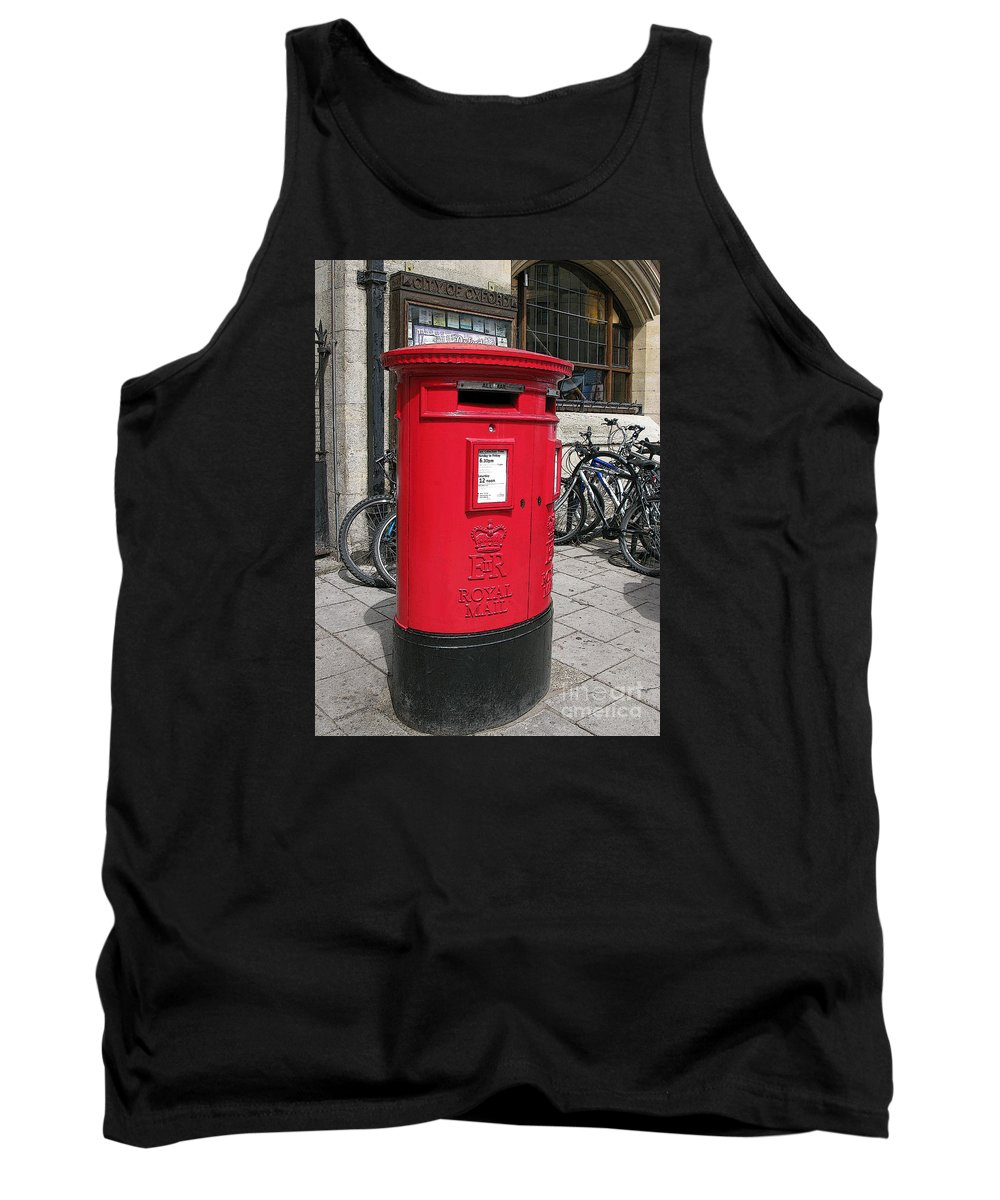 Oxford Tank Top featuring the photograph City Of Oxford by Ann Horn
