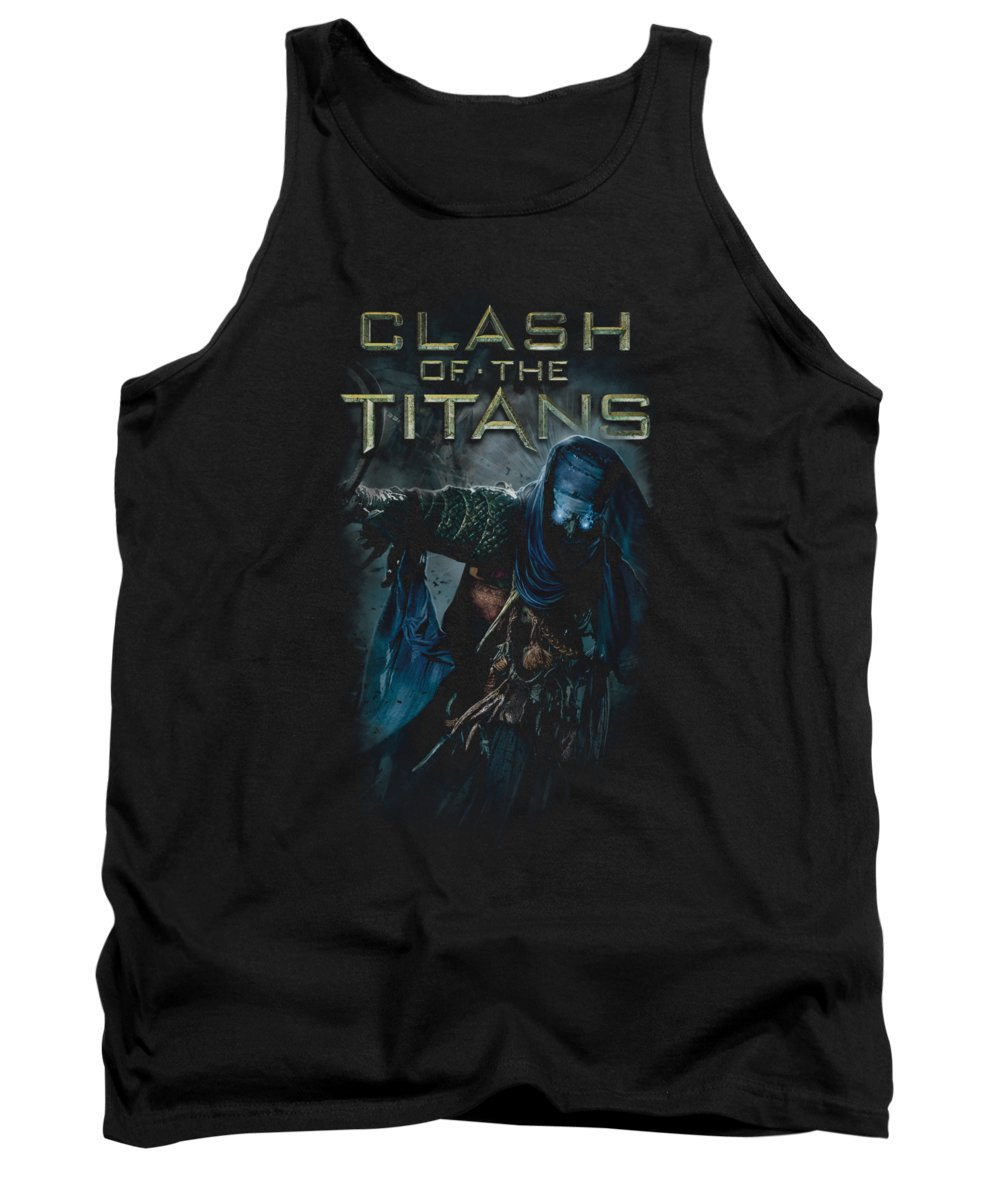 Clash Of The Titans Tank Top featuring the digital art Clash Of The Titans - Sheikh by Brand A