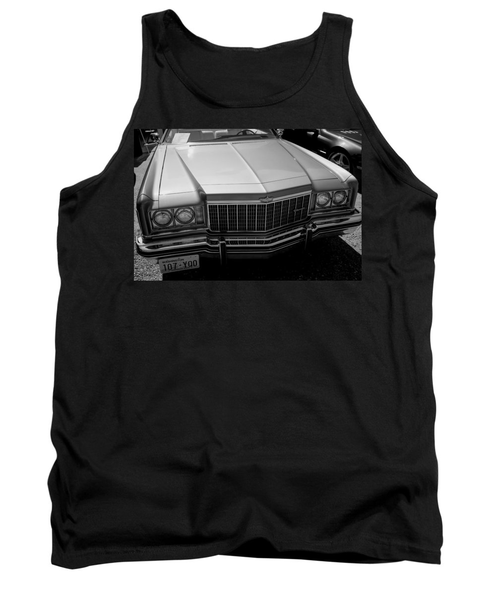 Tank Top featuring the photograph Classic Chevy Caprice by Cathy Anderson