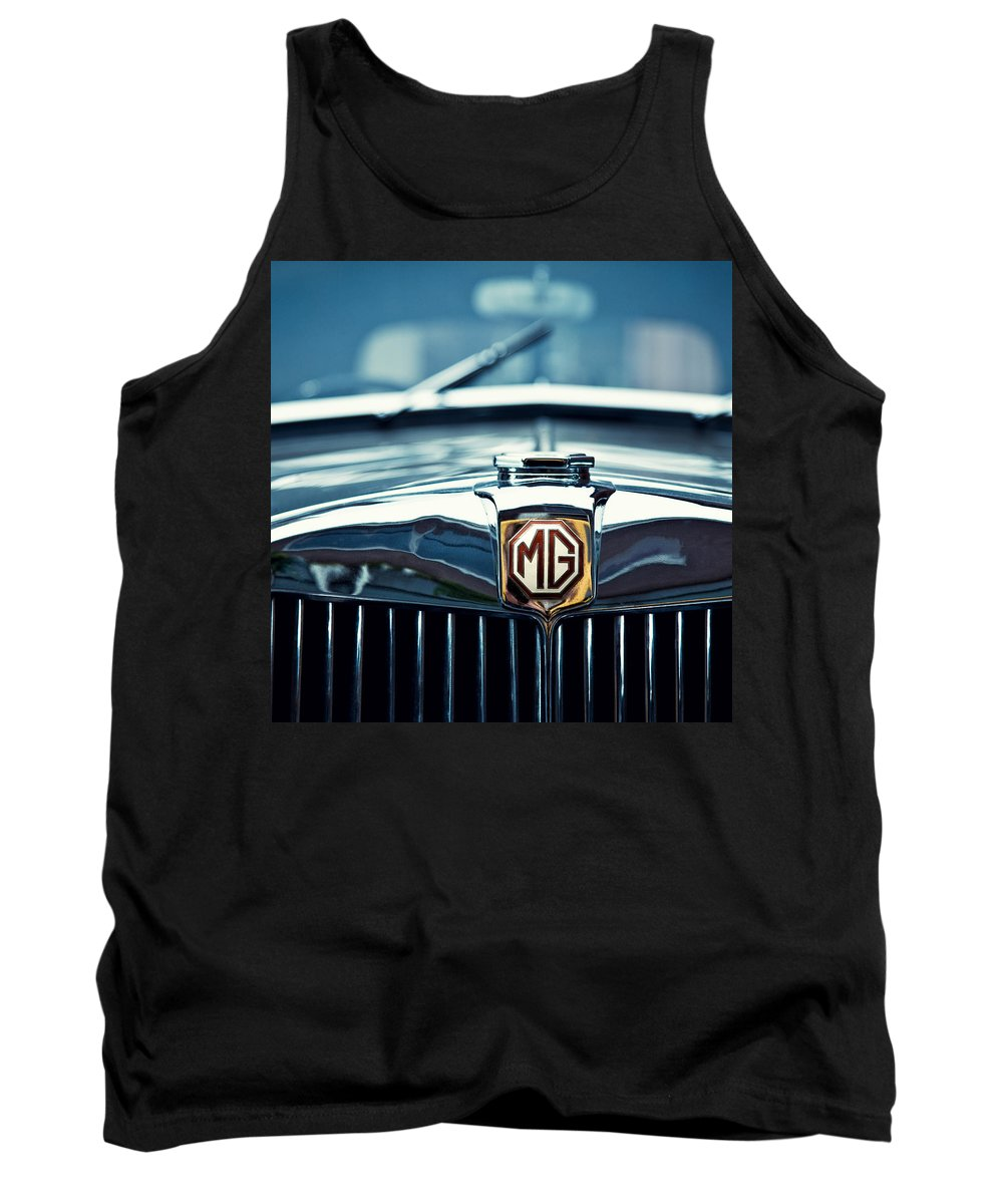 Mg Wa Tank Top featuring the photograph Classic Marque by Dave Bowman