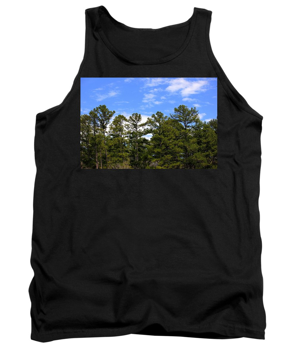 Clean Tank Top featuring the photograph Clean Air by Jackie Austin