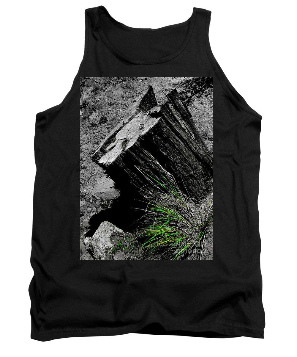 Digital Color Photo Tank Top featuring the digital art Clean Cut Sc by Tim Richards