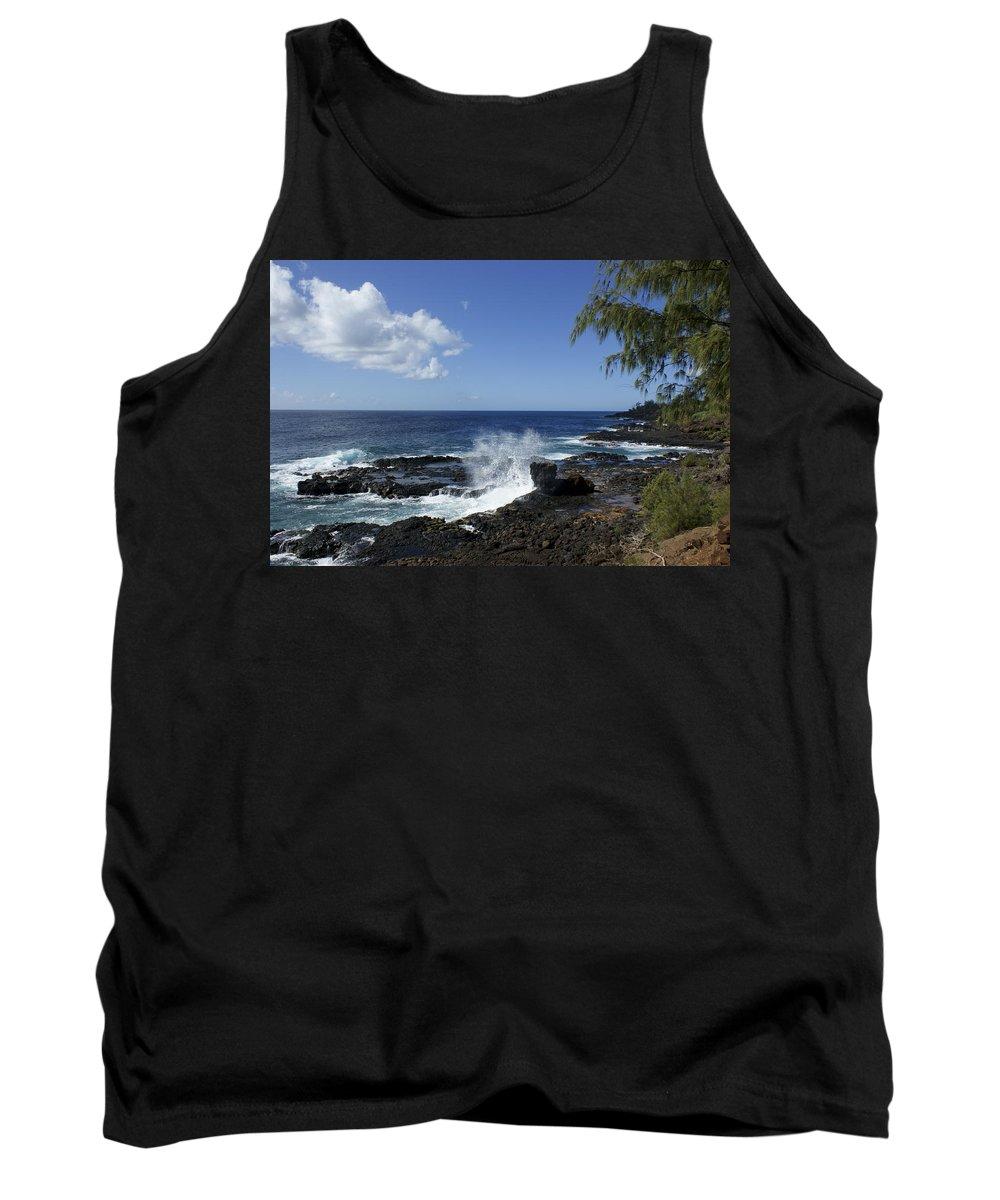 Kauai Tank Top featuring the photograph Coast Of Kauai by Brian Kamprath