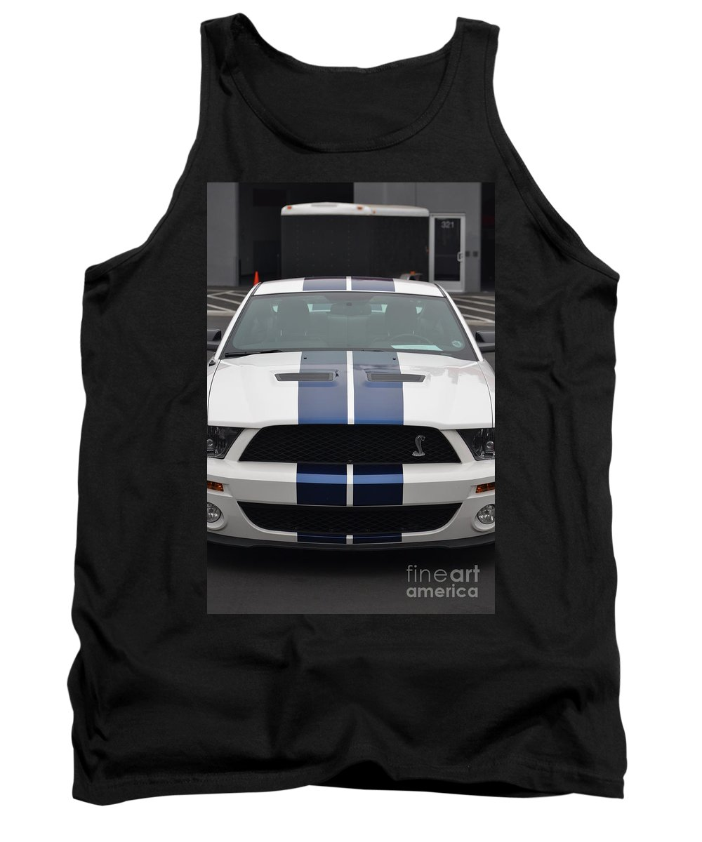 Tank Top featuring the photograph Cobra Mustang by Dean Ferreira