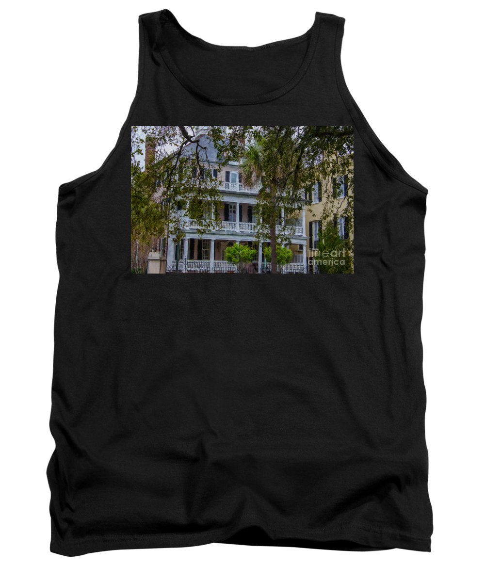 Charleston Tank Top featuring the photograph Colonial Charleston by Dale Powell